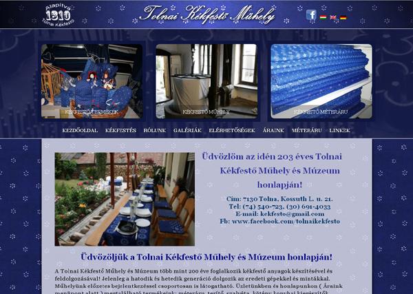 Tolnai Kékfestő Műhely