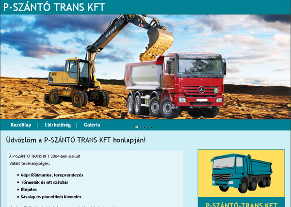 P-Szántó Trans Kft