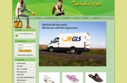 Topánkacipő webáruház