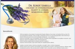 Dr. Kordé Izabella csecsemő- és gyermekgyógyász