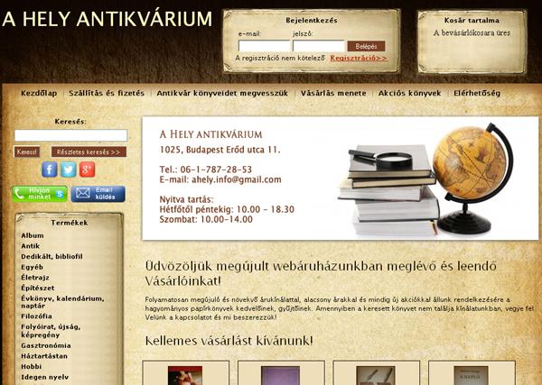A Hely Antikvárium