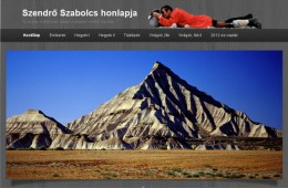 Szendrő Szabolcs honlapja