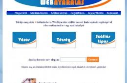 Webnyaralás szálláskereső